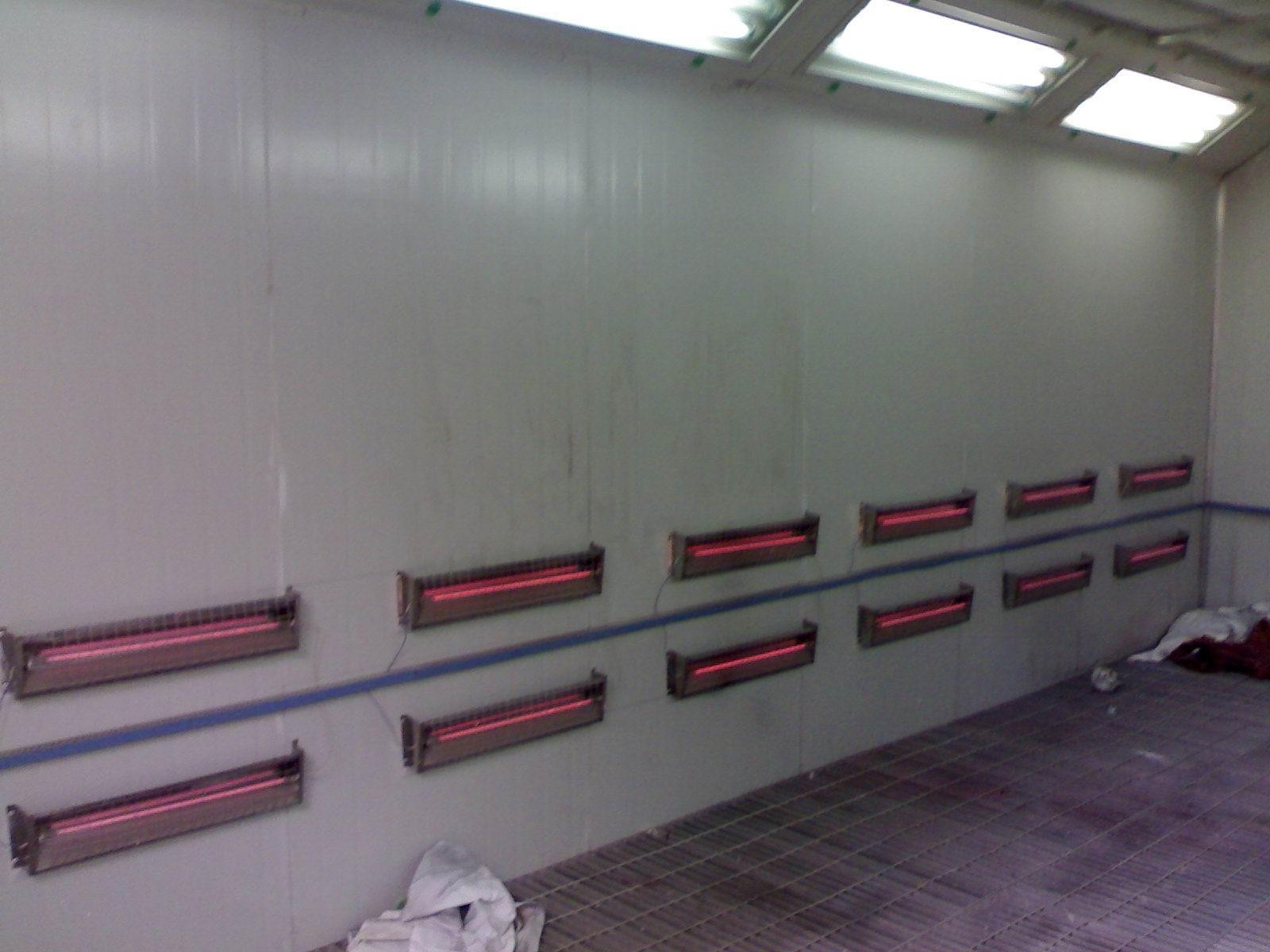 供应青岛红外线烤漆房