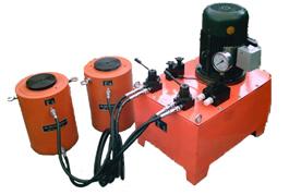 供应100吨电动分离式液压千斤顶