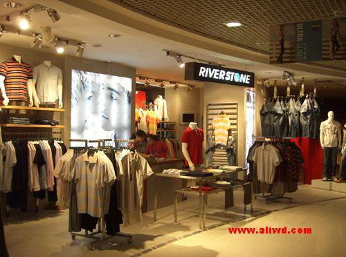 服装品牌店装修,服装专卖店装修,推荐广州佳星装饰公司,是装修,设计