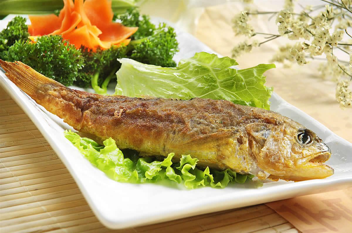 韩式煎黄花鱼-韩国料理