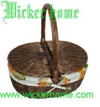 供应柳编野餐篮