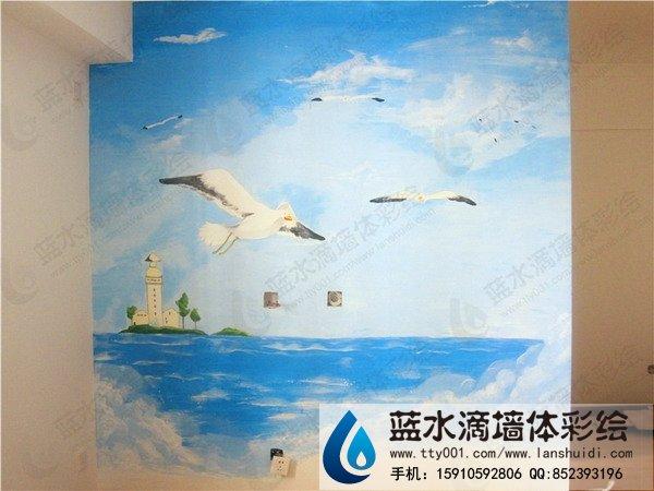 东南亚风景 彩绘