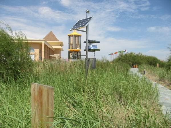 金谷科技垃圾场太阳能灭蝇器