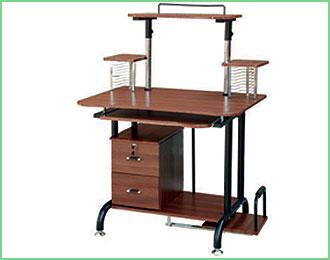 电脑桌819型生产供应商:亚特办公家具-供应电脑桌819