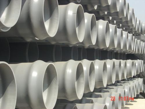 pvc u排水管材图片 pvc u排水管材样板图 pvc u排水管材 山东阳谷恒泰