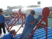 30管太阳能热水器图片