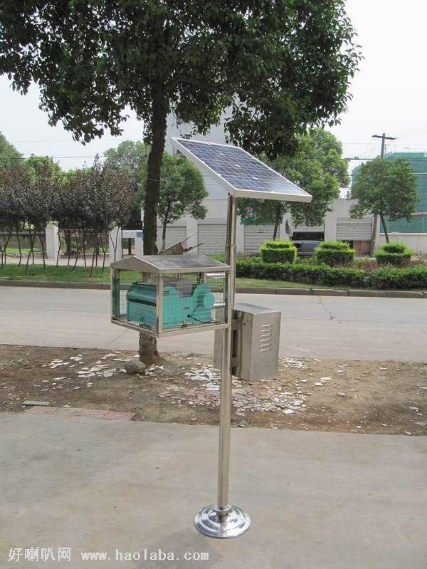 世界首创垃圾场太阳能灭蝇器