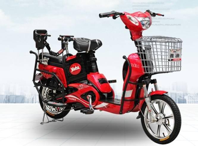 雅迪瑞丽电动自行车