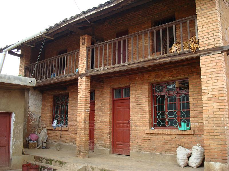 农村房屋建筑立面图设计图片