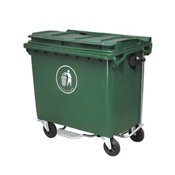 660l脚踏式塑料垃圾桶