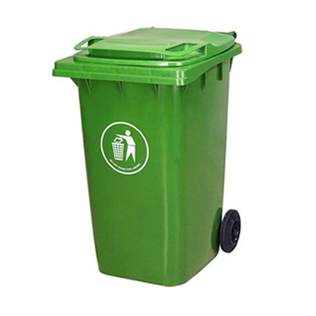 供应240l塑料环保垃圾桶图片