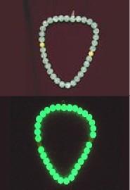 供应发光项链专用夜光粉发光耳勺专用夜光粉耐高温高亮夜光粉