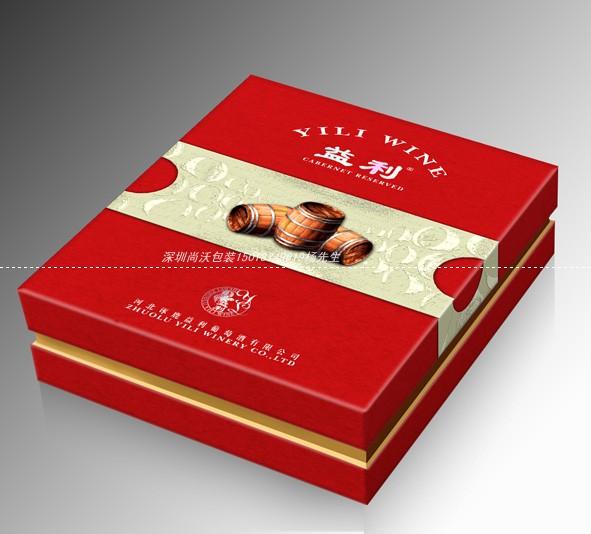 红酒包装纸盒图片 红酒包装纸盒样板图 红酒包装纸盒
