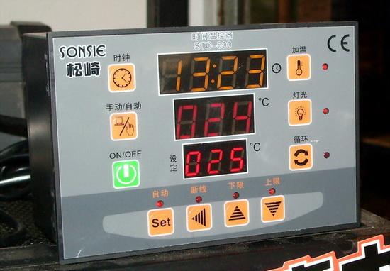 牌水族箱外置温度定时器/鱼缸温控器/水泵循环控制器