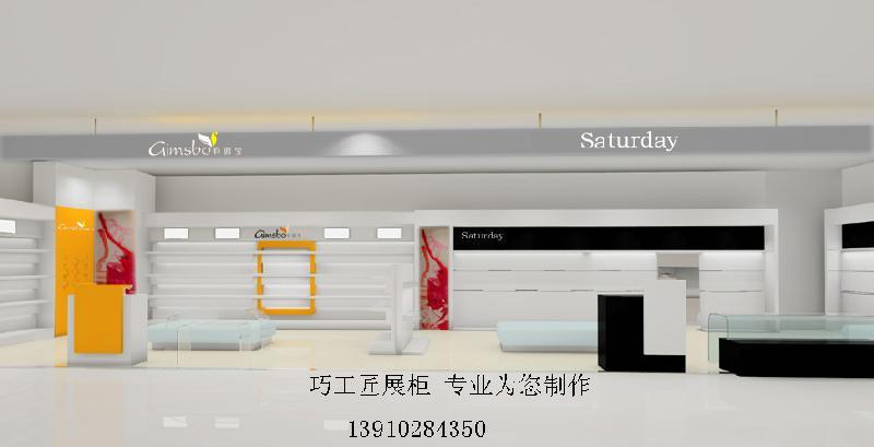服装展柜北京服装展柜设计制作
