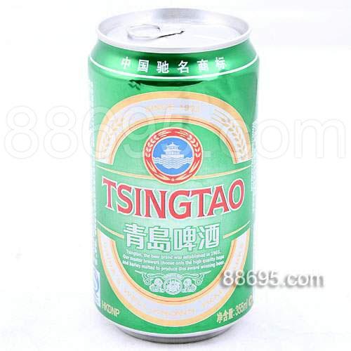 【青岛啤酒价格~~优质麦芽酿制~~听装青岛啤酒批发】