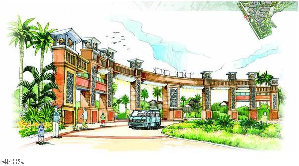 园林建筑规划设计 各类公园,度假村,住宅小区,办公环境,学校