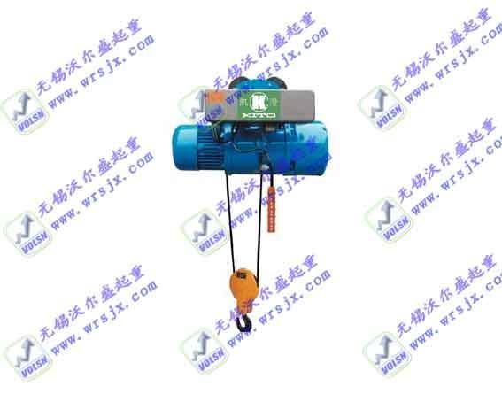 沃尔盛cd电动葫芦特点:cd电动葫芦为旁磁式三相电机