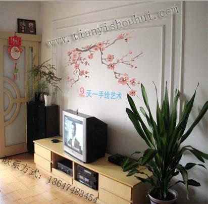 【长沙手绘|长沙手绘背景墙|长沙手绘设计】