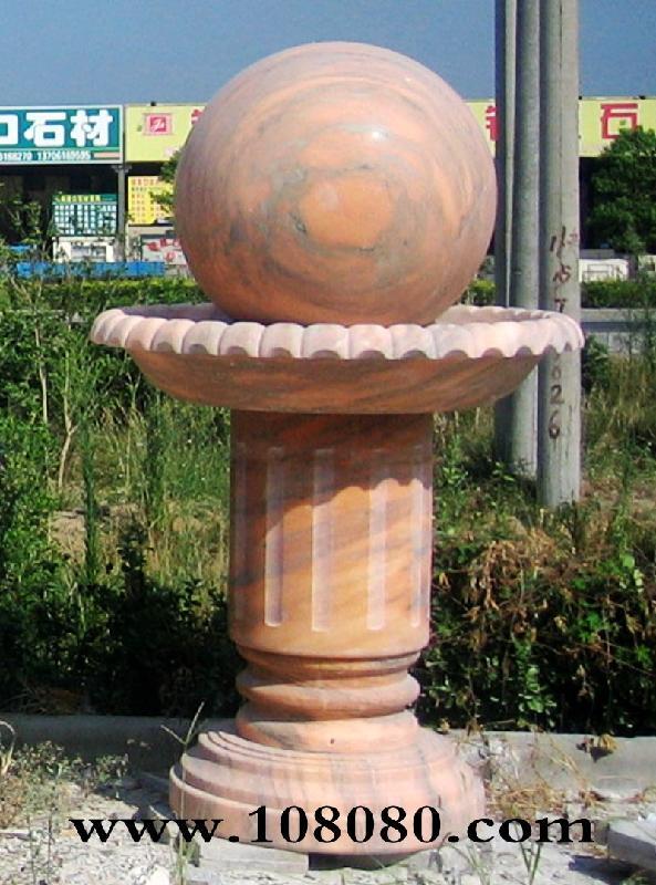3米,材质有大理石,花岗岩,玉石.造型有欧式风水球和中式风水球.