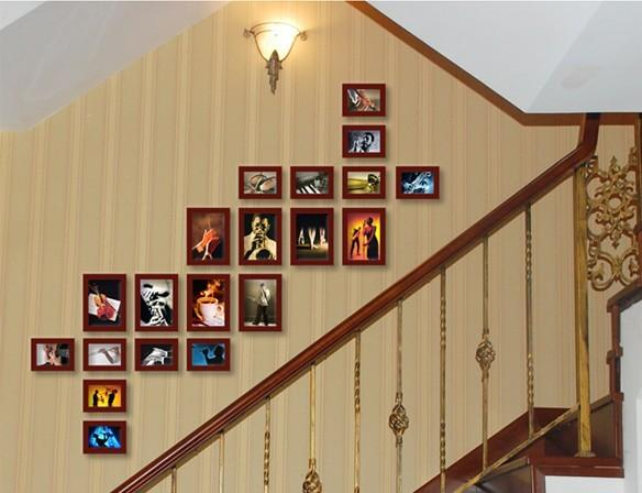 照片墙设计首先要确定主题
