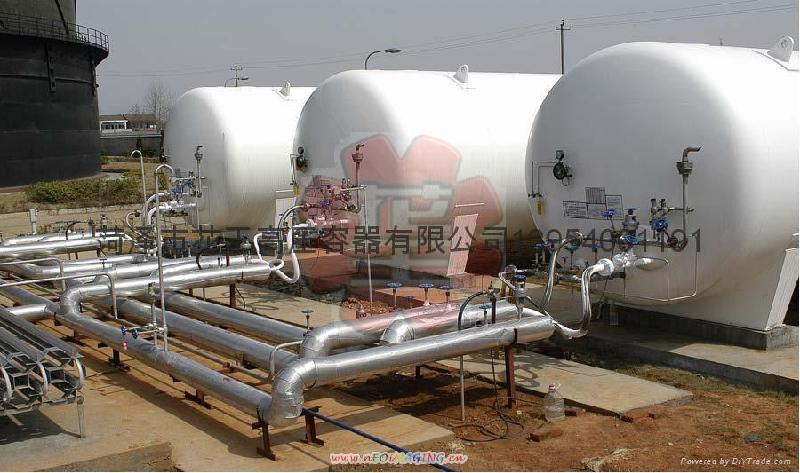 液态二氧化碳/液氧/液氩/液氮储罐,液氨储罐,液氯及氯气储罐,空气及