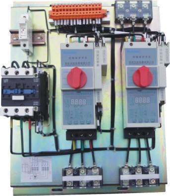 电动机由隔离开关控制的电路图