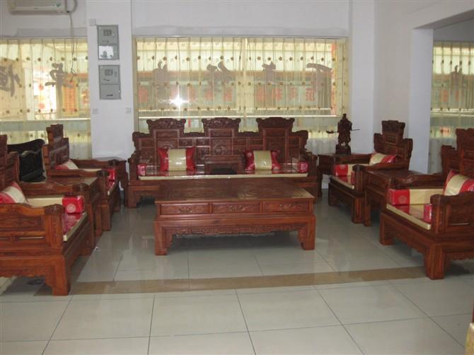 红木沙发,红木沙发图片