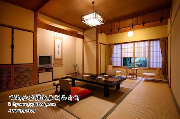日式小卧室手绘效果图