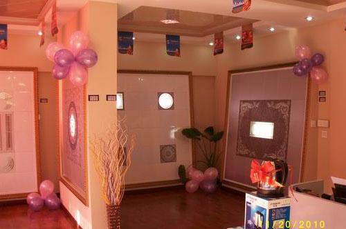 气球卧室拱门图片