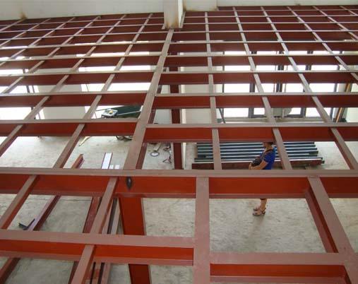 北京搭建阁楼 钢结构厂房