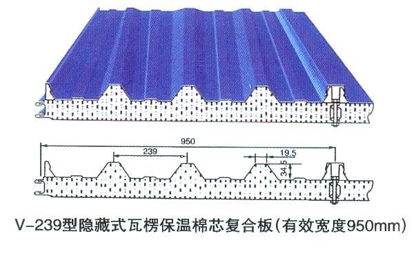 镀锌承重瓦安装步骤