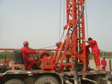 【bzc-350c车载钻机在新疆塔里木油田钻井成功】