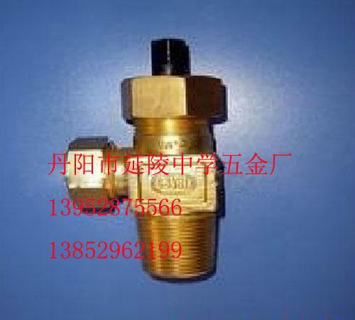 qf-10液氯钢瓶阀门针形式氯气阀门图片