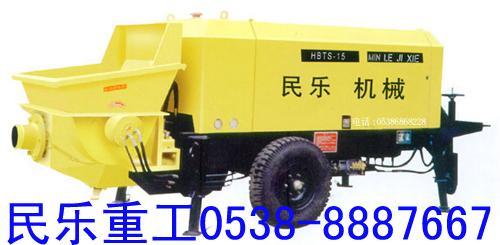 活塞式混凝土输送泵原理图片