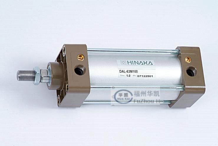 【hinaka铝合金气缸标准气缸薄型气压缸原装进口价优图片