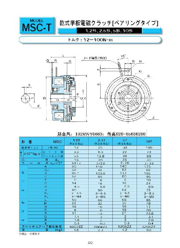 几个摩擦付,同等体积转矩比干式单片电磁离合器大
