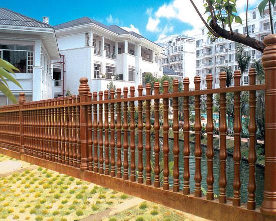 艺术欧式水泥围栏为沈阳城市美化增添亮色