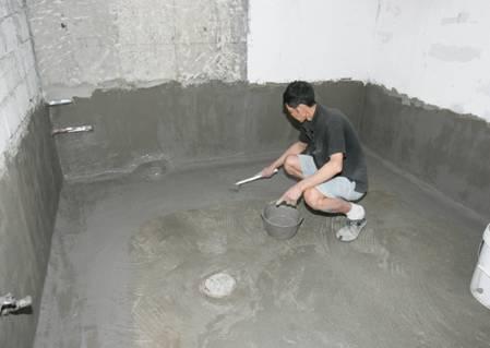 未做防水的卫生间和厨房可能导致隔壁房间墙皮脱落