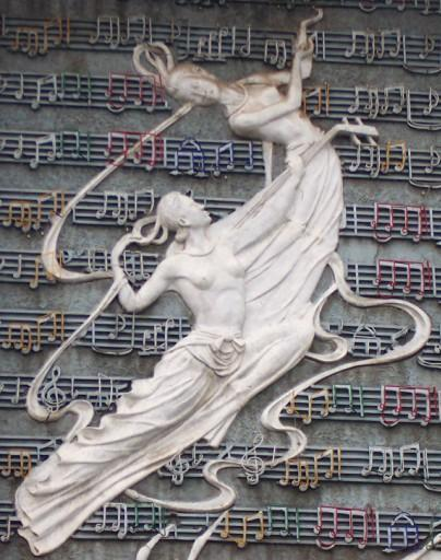 石膏浮雕图片动物
