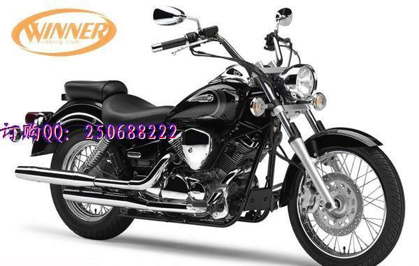 风速进摩托车雅马哈250城市踏板车