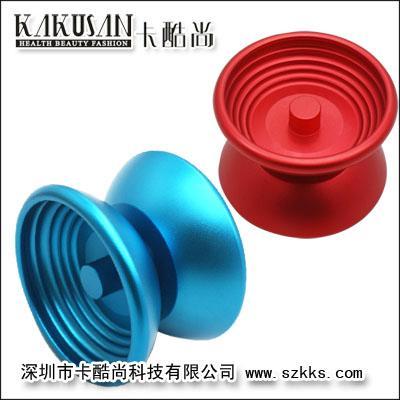 (二)悠悠球根据其构造不同,可分为三大类型,即整体形,轴承型和