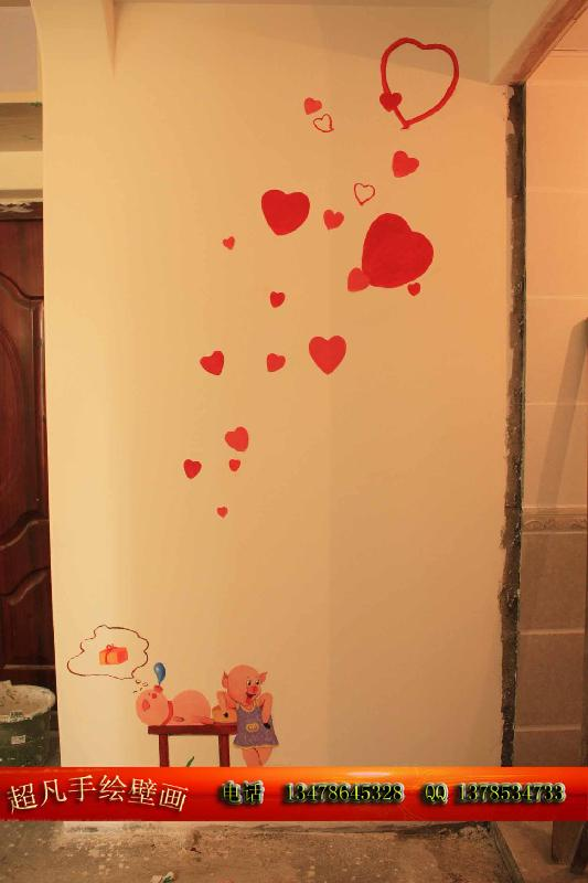 大连手绘墙画 墙绘