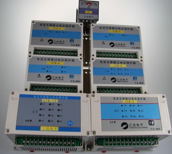 本产品电流互感器为二次绕组星形连接.